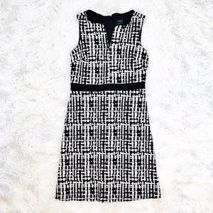 Ann Taylor textured sleeveless sheath dress